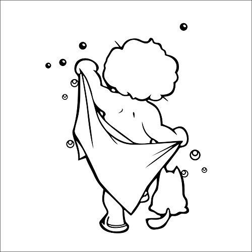 Dekoration Ecologique Protection Salle de bains des enfants commerce sculptšŠ Main Stickers muraux