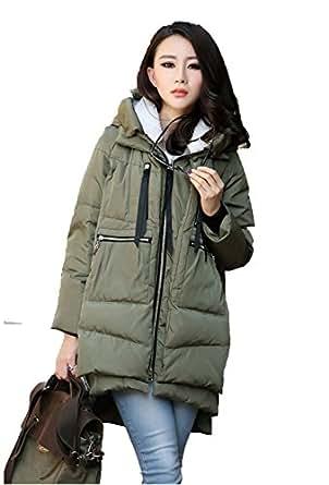 Ideal4dress Winter Thickened Long Down Jackets Women Warm