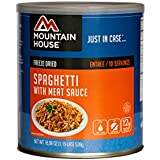 Mountain House, Spaghetti with Meat Sauce