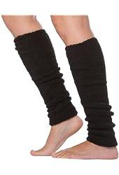 Sakkas Luxury Cashmere Feel Tagless Stretch Leg Warmers