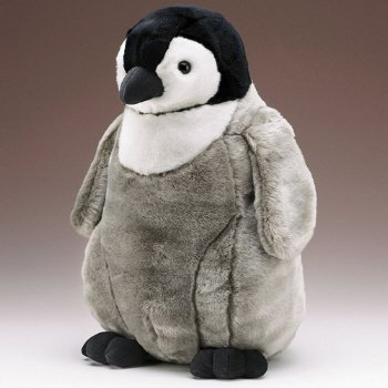 """Emperor Penguin Chick 18"""" By Wild Life Artist front-765390"""