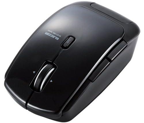 ELECOM Bluetooth4.0レーザーマウス 低消費電力 5ボタン DPI切替ボタン ブラック M-BT13BLBK