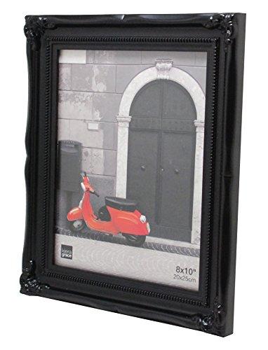 Kiera Grace Georgia Picture Frame, 8  by 10 Inch, Black (8x10 Black Picture Frame compare prices)