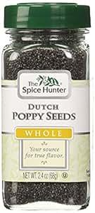 The Spice Hunter Poppy Seeds, Dutch, Whole, 2.4-Ounce Jar