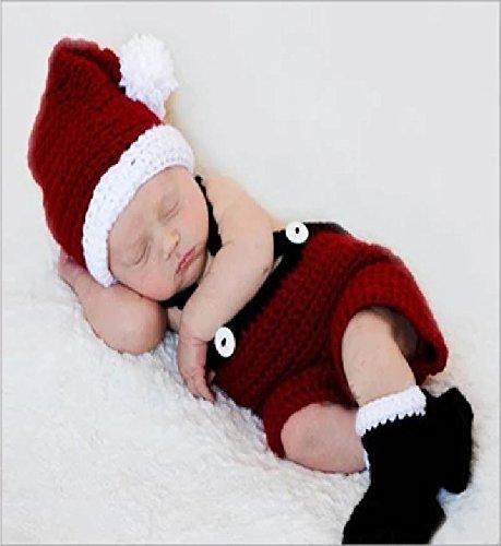 Merci 赤ちゃん ベビー 男の子 クリスマス サンタコスチューム コスプレ衣装  仮装 パーティー イベント DO