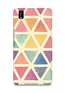 Amez designer printed 3d premium high quality back case cover for OnePlus X (Pattern 1)