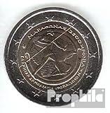 Grecia 2010 Stgl./unzirkuliert 2010 2 Euro batalla por Marathon (monedas para los coleccionistas)