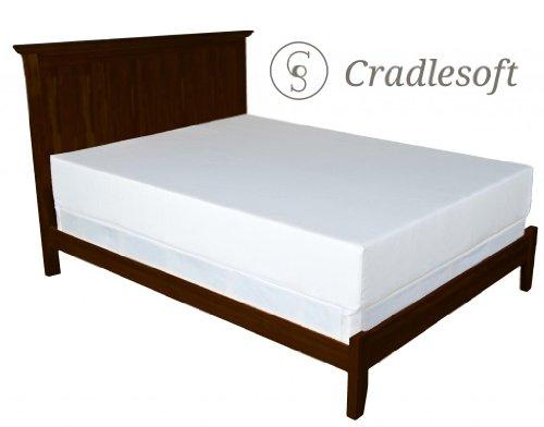 Cradlesoft¨, 10-Inch Natural Latex Plus Foam Mattress, King