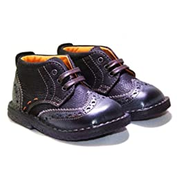 Joojos Wingtips (Infant / Toddler) - Black - Dumbo (18 EU / 2 M US Infant)