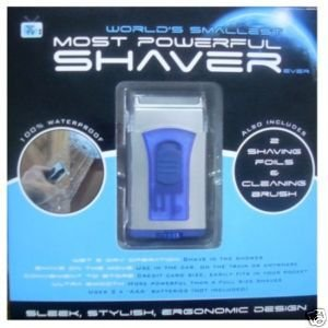 World's Smallest Most Powerful Battery Operated Shaver