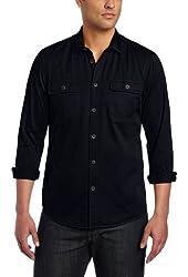 Ben Sherman Men's Laundered Garment Dye Twill Shirt