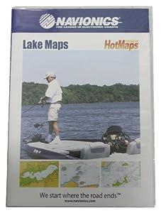 Navionics Hotmaps Premium South Lake Map (Blue) by Navionics