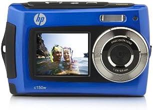 """HP C-150w Appareil photo numérique 8 Mpix étanche 3m écran 2,7"""" USB Bleu"""