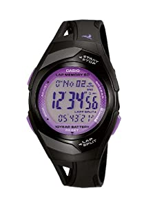 Casio Collection Unisex-Armbanduhr Sport Laufuhr Digital Quarz STR-300-1CEF