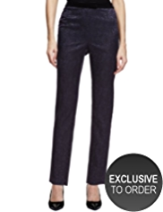 Twiggy for M&S Collection Jacquard Trousers