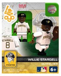 Willie Stargell OYO MLB HOF G2 Series 1 Pittsburgh Pirates Mini Figure Limited Edition
