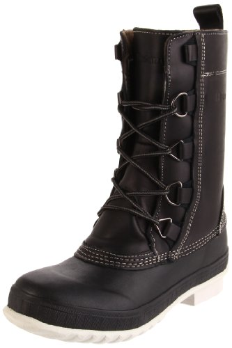 Tretorn Women's Aspelina Winter Boot, Black, 35 M EU/4 M US