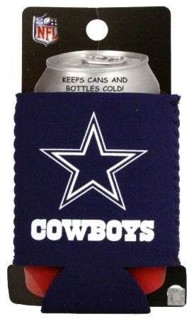 DALLAS COWBOYS NFL CAN KADDY KOOZIE COOZIE COOLER at Amazon.com