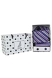 Ellis Men's Tie, Cufflinks & Pocket Square Combo