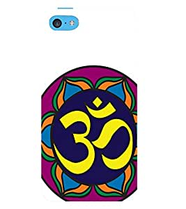 FUSON 3D Designer Back Case Cover for IPHONE 5C - D9736