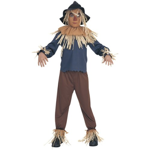 Scarecrow Costume - Large back-1018169