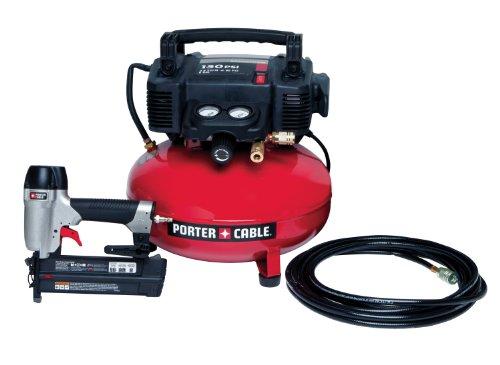PORTER-CABLE PCFP12236 Brad Nailer Combo Kit