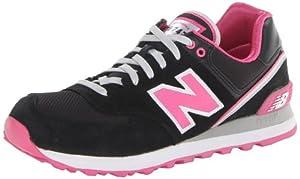 New Balance 574 Damen Sneaker Schwarz