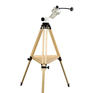 Vixen StarGuy Alt Az Pro Telescope Mount with Berlebach Wood Tripod