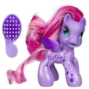 My Little Pony Ponyville Cutie Mark Design StarSong Pony Figure