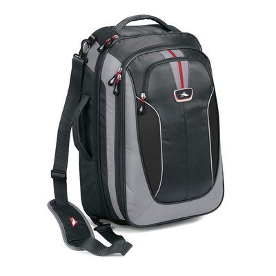 B005BMA9BM High Sierra AT607 Carry On Travel Bag with Backpack Straps (Greystone/Shadow/Black)