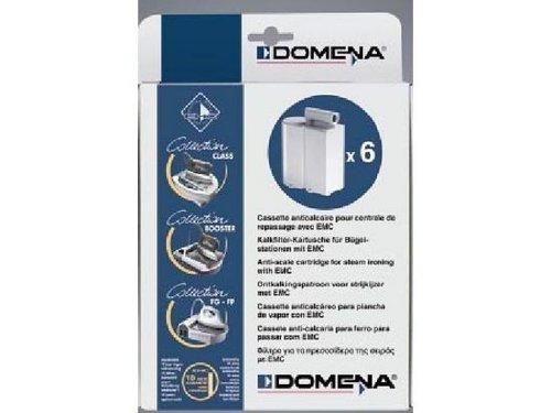 Domena 412727 Boite de 6 cassettes anti-calcaire