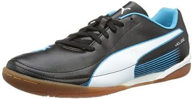 Puma Velize II IT 102988 Herren Fußballschuhe, Schwarz (black-white-fluo blue 04), EU 47 (UK 12) (US 13)