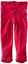 Jefferies Socks Baby Girls\' Pima Tight, Hot Pink, 6 18 Months