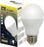 スマホで調光可能なWi-Fi対応型LEDフルカラー電球Mi-Light RGBW-series【電球単体】