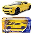 2010 Chevy Camaro SS 1:24 Scale (Yellow/ Black Stripes)
