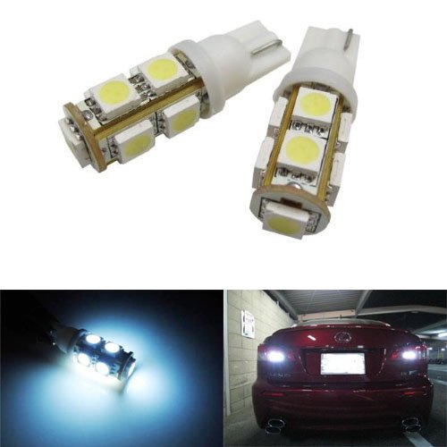 Jdmtoy 9-Smd-5050 912 921 906 Led Bulbs For Back Up Reverse Lights, Xenon White