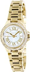 Michael Kors Camille Gold Tone Roman Numeral Watch MK3252