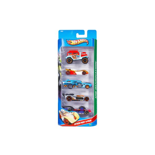 Hot Wheels 5-Car Gift Pack - Attack Pack X9850 HW Imagination 1:64 Scale - 1