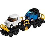 Lego 7939 Cargo City Car Transporter Wagon Plus 2 Cars