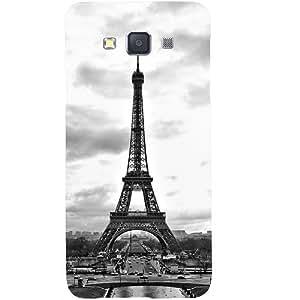 Casotec Paris City Design Hard Back Case Cover for Samsung Galaxy A3