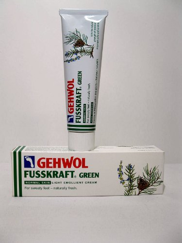 Sale alerts for E Gerlach GmbH Gerlach Gehwol FUSSKRAFT GREEN Normal Skin Emollient Cream, 75ml (2.6oz) - Covvet