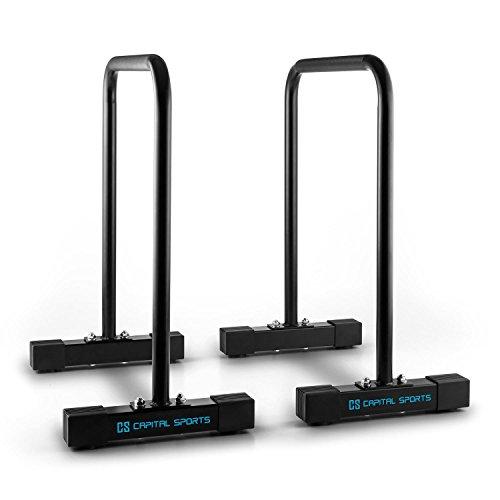 Klarfit Black Parallele Core Equalizer per allenare l'intero corpo colore Nero