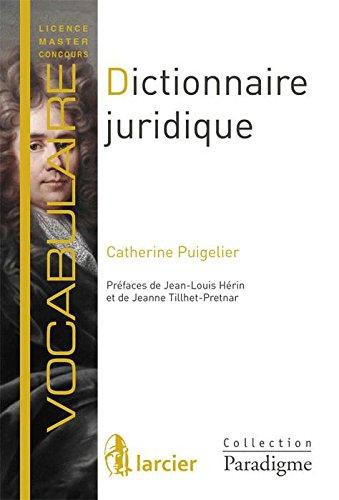 Dictionnaire juridique : Définitions, explications et correspondances