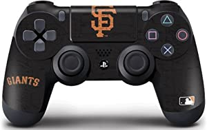 MLB San Francisco Giants Distressed Skin for Sony PlayStation 4/PS4 Dual Shock4 Controller, Black