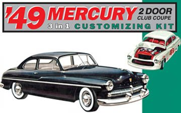 AMT 1949 Mercury Club Coupe 1/25 Scale Model Car Kit (Amt Model Kits compare prices)