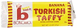 Bonomos Turkish Taffy - Banana 24ct.