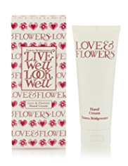 Emma Bridgewater Love & Flowers Hand Cream 75ml
