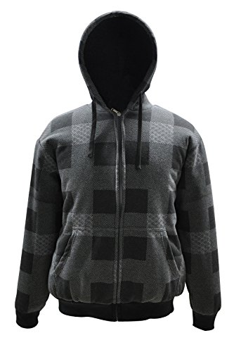 Simplicity Hooded Classic Style Lightweight Jacket- Sizes Adult In Dark Grey