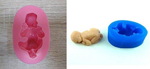 Moule Silicone Bebe 3D - Patisserie Gateau Chocolat Amande Sucre - 116