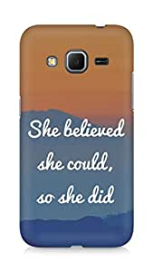 AMEZ she believed she could so she did Back Cover For Samsung Galaxy Core Prime